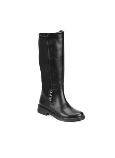 Butigo Fermuarlı Çizme Siyah
